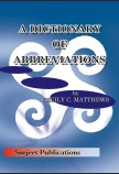 A DICTIONARY OF ABBEVIATIONS