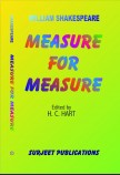 MEASURE FOR MEASURE: EDITED BY H. C. HART