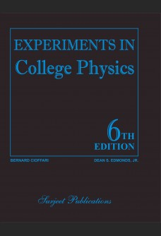 EXPERIMENTS IN COLLEGE PHYSICS