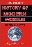 HISTORY OF MODERN WORLD (SINCE 1914 A. D.)