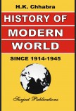 HISTORY OF MODERN WORLD (FROM 1914 A. D. TO 1945 A. D.)