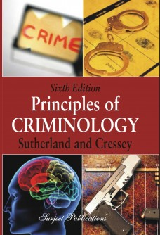 PRINCIPLES OF CRIMINOLOGY - SIXTH EDITION