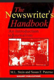 THE NEWSWRITER'S HANDBOOK: AN INTRODUCTION TO JOURNALISM