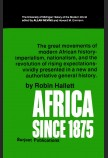 AFRICA SINCE 1875: A MODERN HISTORY