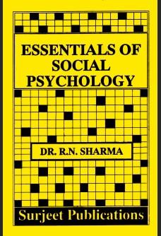 ESSENTIALS OF SOCIAL PSYCHOLOGY