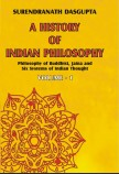 A HISTORY OF INDIAN PHILOSOPHY VOL-1